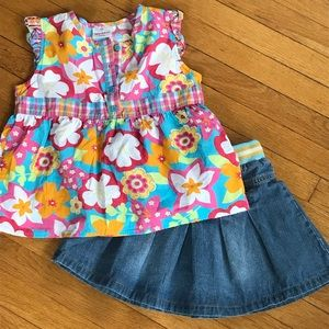 Mini Boden/Hanna Andersson summer outfit!
